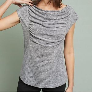 Meadow Rue | Fillmore Draped Ribbed Top